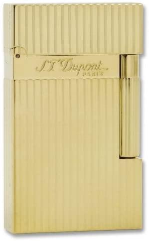 Mechero St. Dupont bañado en oro