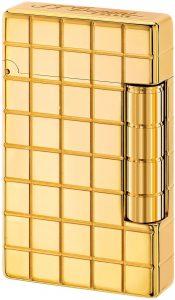 S.T. Dupont D-020801 - Mechero de inicial, color dorado