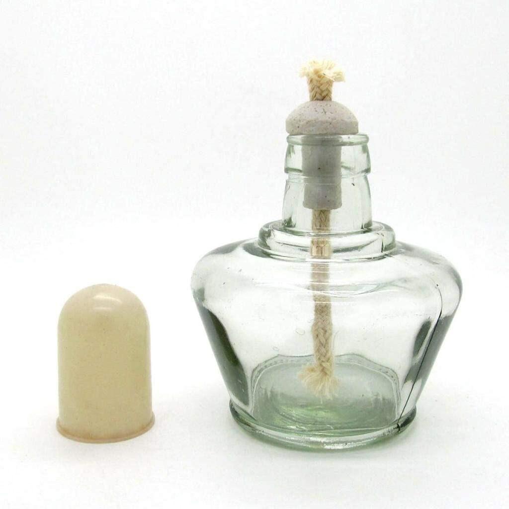 Mechero de alcohol de cristal Bunsen para laboratorio de 150 ml
